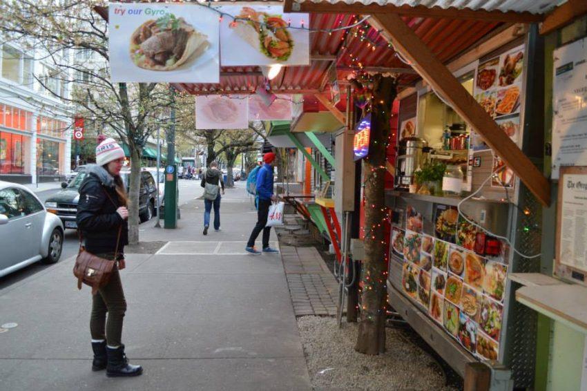 Visit Portland for its food trucks