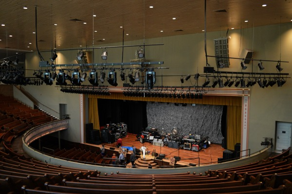 A weekend in Nashville - check out the Ryman Auditorium