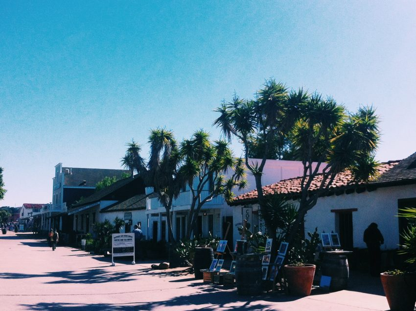 Old Town in San Diego