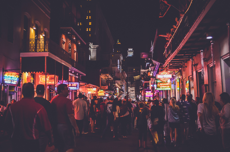 New Orleans is one of my favourite American cities.