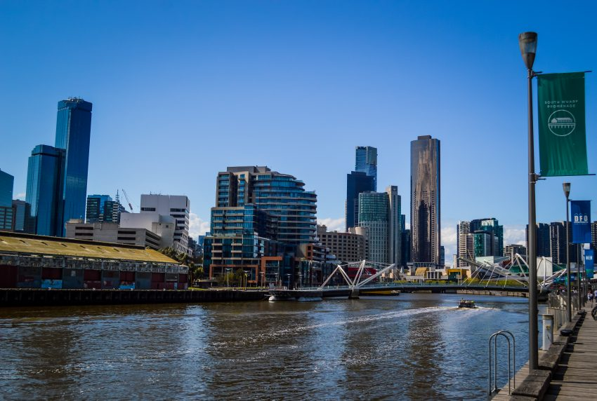 Visiting South Wharf in Melbourne city centre