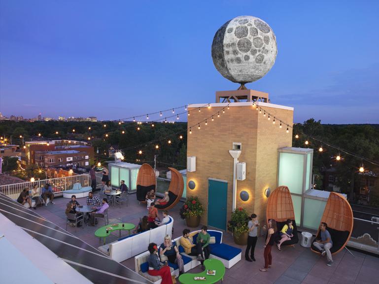 Moonrise Hotel in St Louis, Missouri
