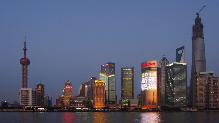 Shopping in Shanghai, China