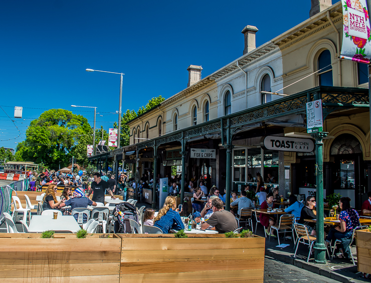 Move to Melbourne for brunch and coffee