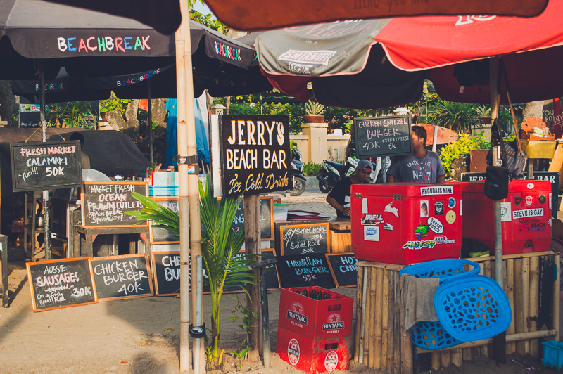 Where to Eat and Drink in Legian, Bali: Jerry's Beach Bar
