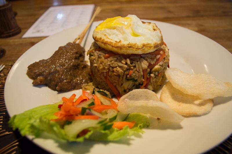 Nasi Goreng at Sammy's Bar and Restaurant in Bali