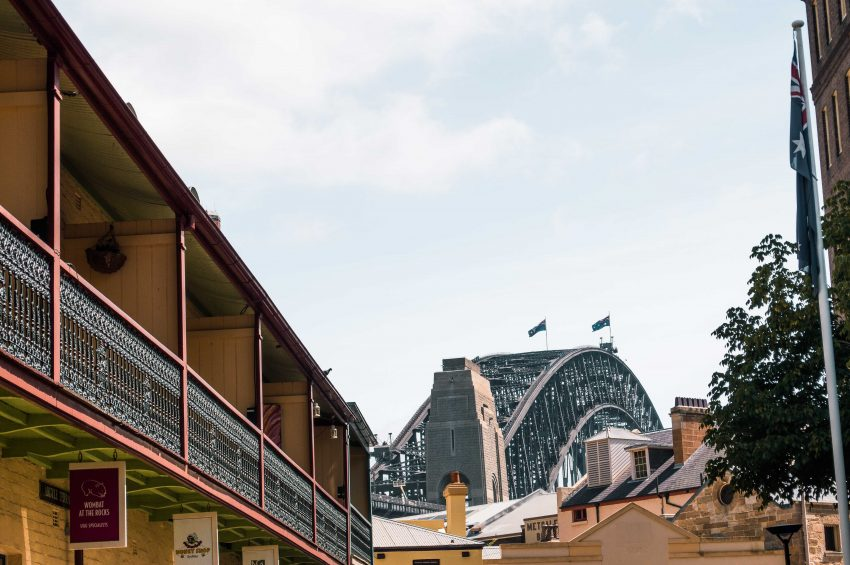 The Rocks in Sydney