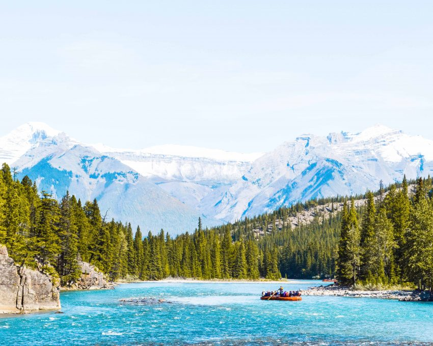 Exploring Banff in the Canadian Rockies, one town on my big North America itinerary.
