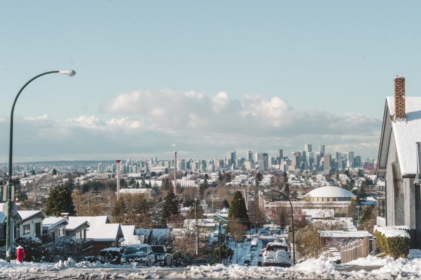 Reasons to move to Vancouver include mild winters!