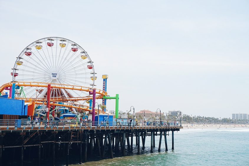 Things to do in LA: visit Santa Monica