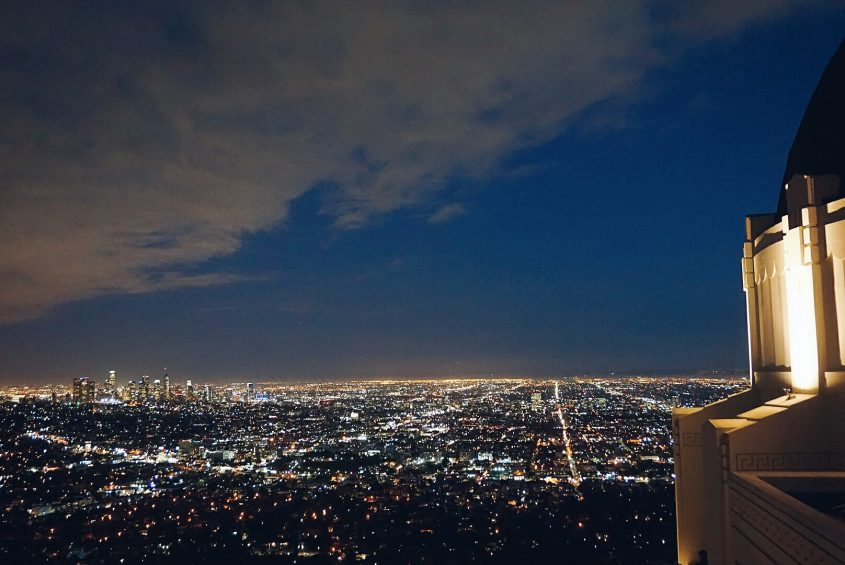 Things to do in LA: visit Griffith Observatory at sunset