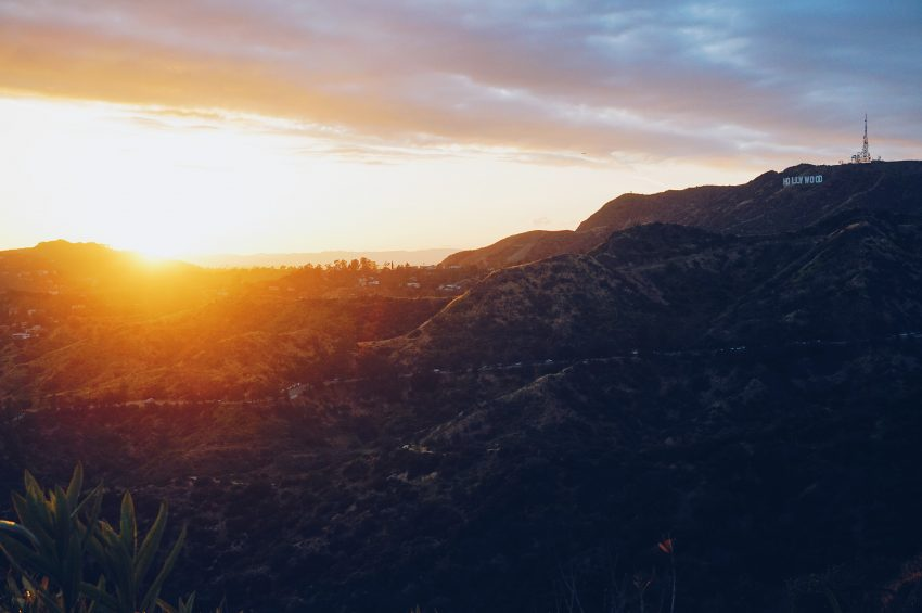 Things to do in LA: Sunset from Griffith Observatory in LA, California