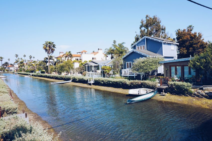 Things to do in LA: visit the Venice Canals