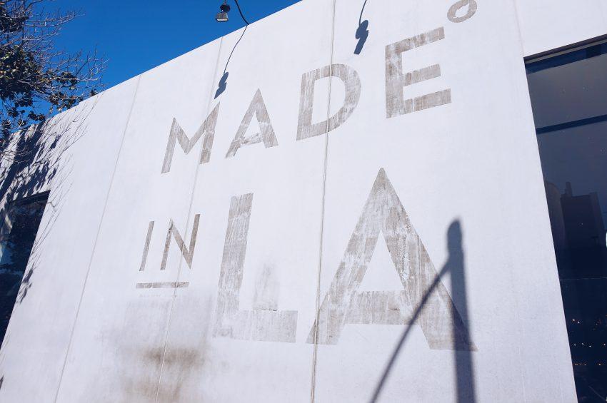 Street art along Melrose Avenue in LA, California