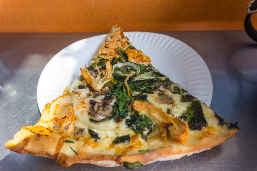 Los Angeles restaurants and takeaway: Abbot's Pizza Company