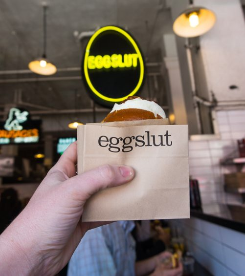 Where to eat in LA: Eggslut in Grand Central Market