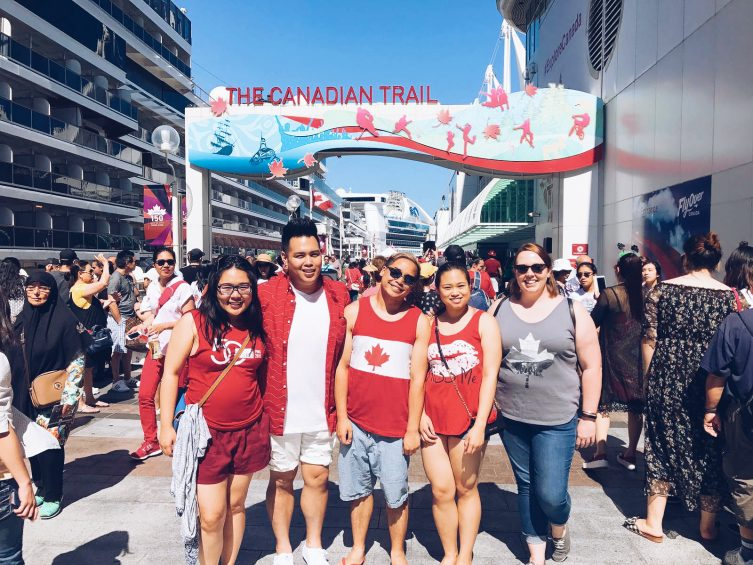 Canada Day celebrations in Vancouver, British Columbia