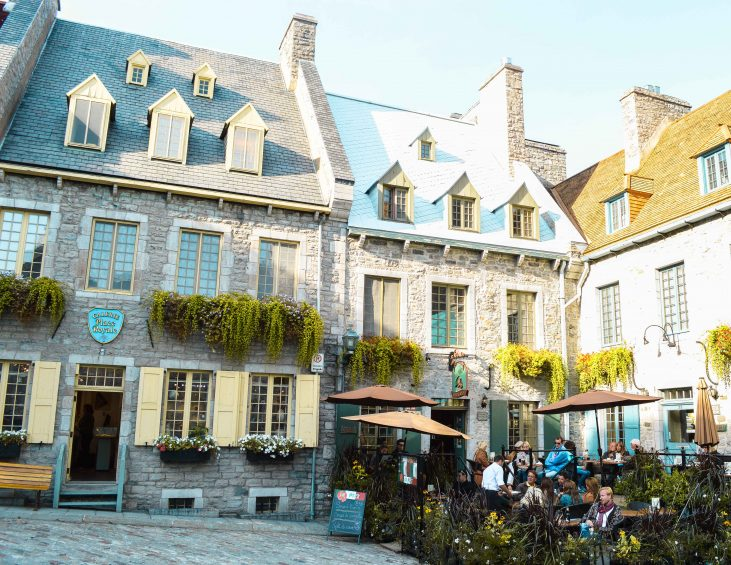 Visiting Quebec City, Quebec and staying in an Airbnb.