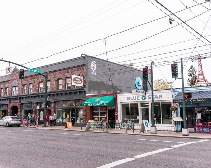 Finding Portland desserts on Hawthorne Boulevard in Portland, Oregon
