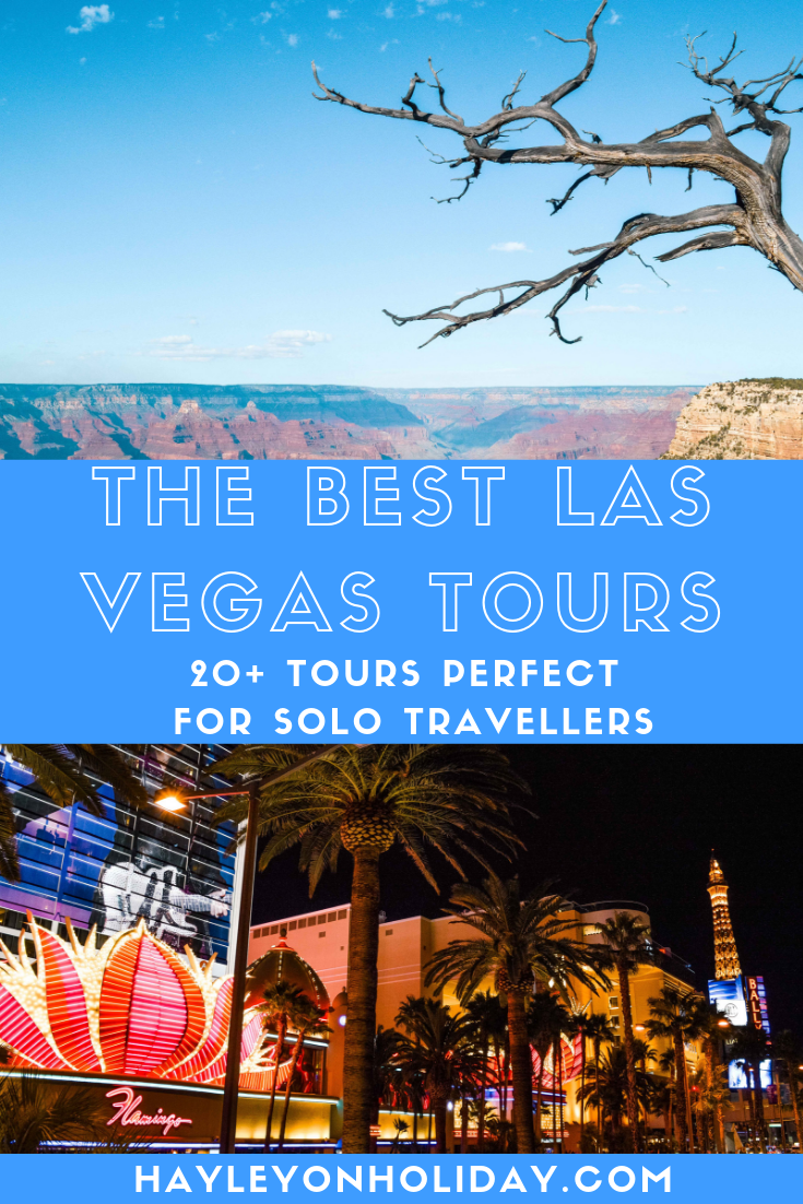 Las Vegas tours - 20+ tour options for solo travellers visiting Las Vegas.