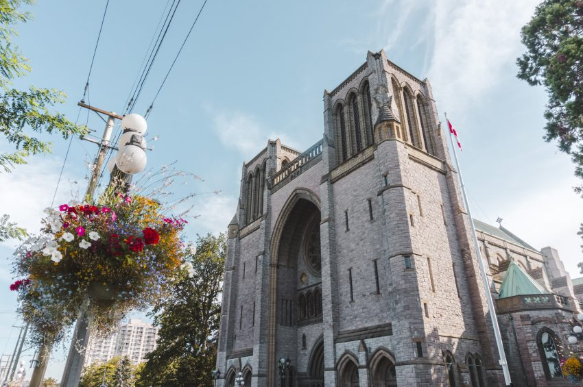 Christ Church Cathedral in Victoria, British Columbia