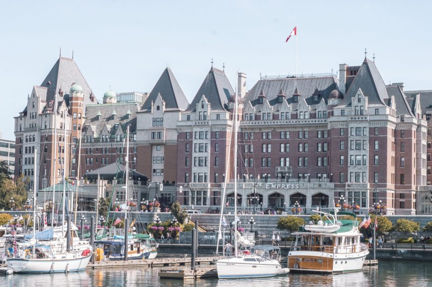 Fairmont Empress in Victoria, British Columbia. Check out my 24-hour guide to Victoria now!