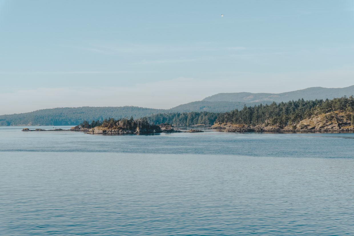 One day in Victoria BC: views from the ferry, crossing from Vancouver to Vancouver Island in British Columbia.