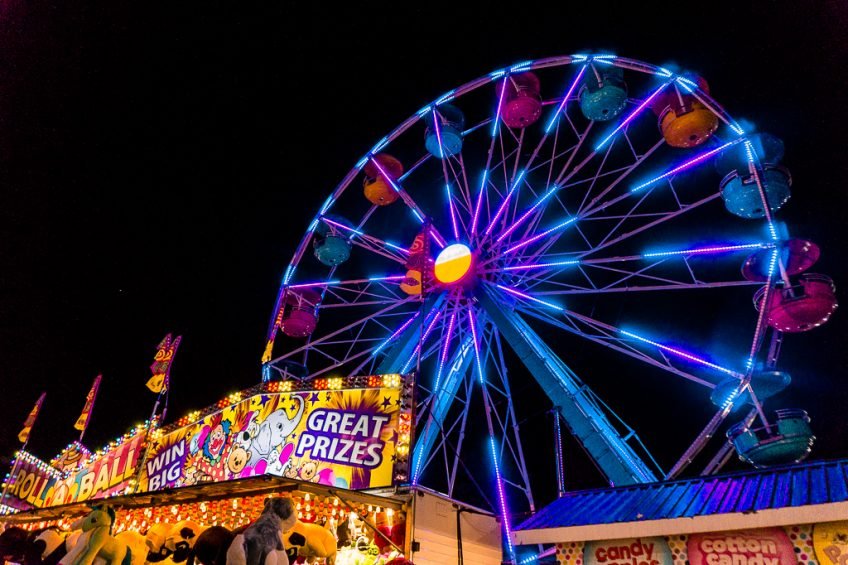 Things to do in Vancouver at night: visit The Fair at the PNE and Playland