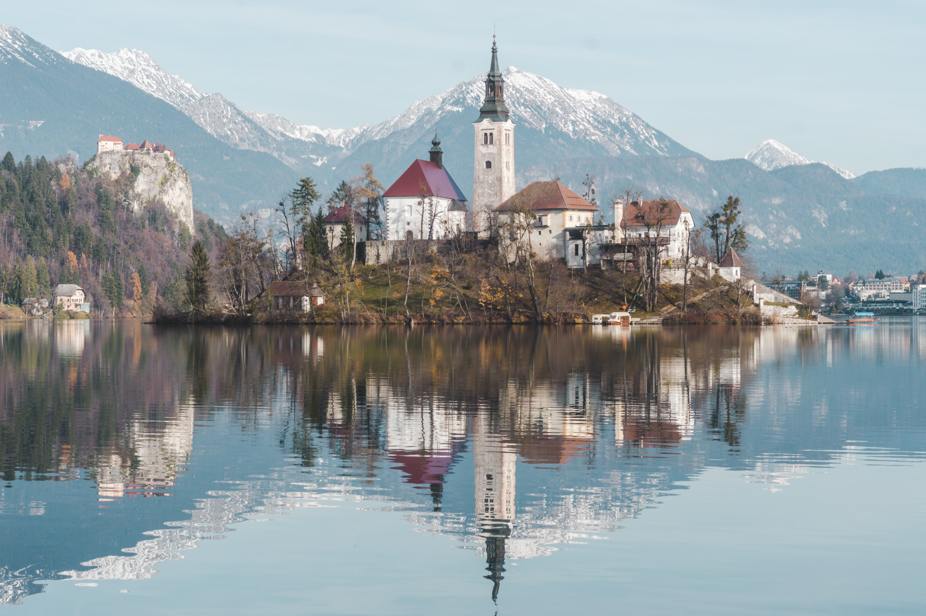 2017 travel highlight: visiting Lake Bled, Slovenia.