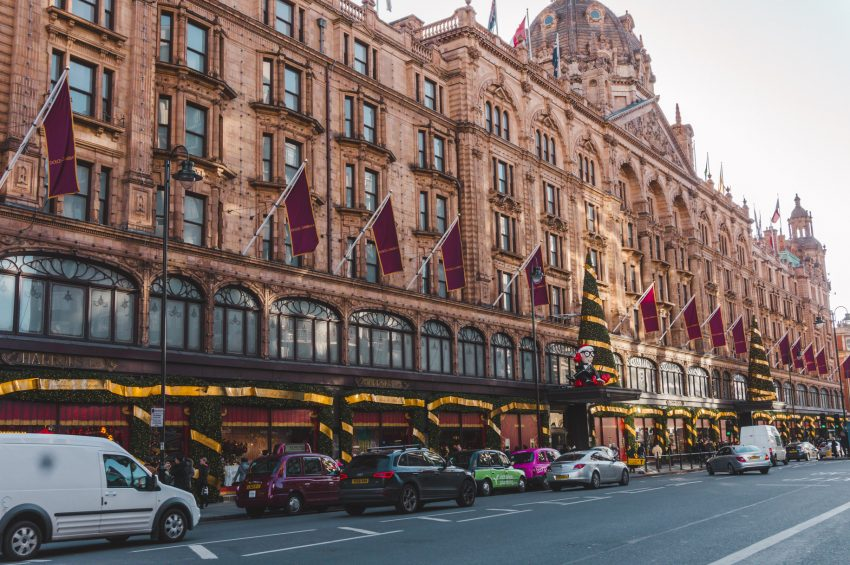 London Christmas at Knightsbridge