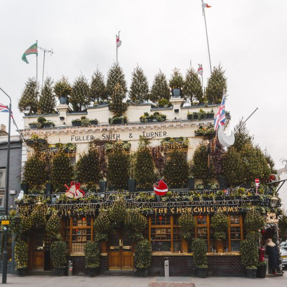 London Christmas at Churchill Arms