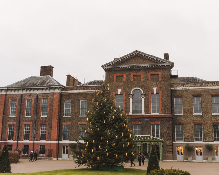 London Christmas at Kensington Palace