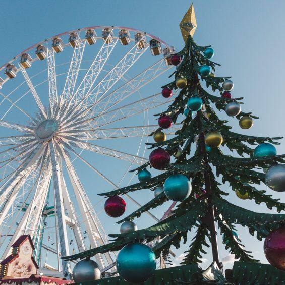London Christmas at Hyde Park Winter Wonderland