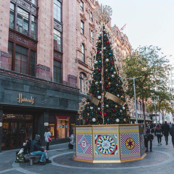 London Christmas at Knightsbridge