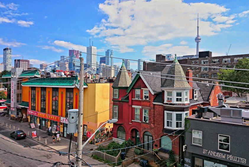 Kensington Market views in Toronto, Canada