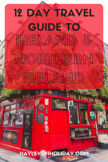 Click to read about my 12 day Ireland and Northern Ireland itinerary. Find out where I went in Ireland, what I did and where I stayed on a budget. This itinerary is perfect for fellow solo travellers too!