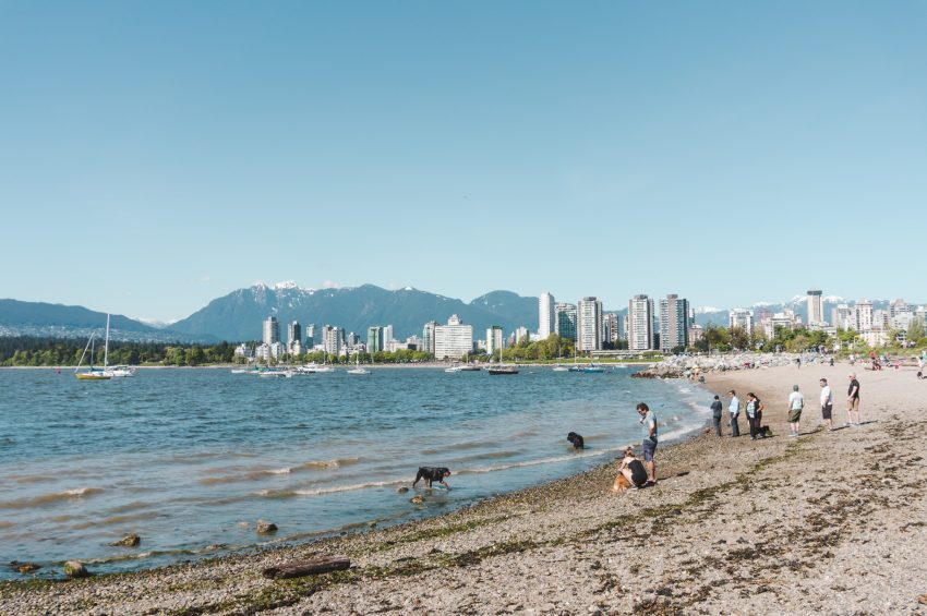 Photographing the Vancouver skyline
