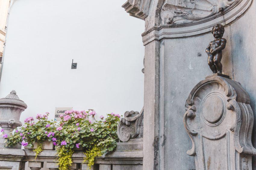 Things to do in Brussels: visit Manneken Pis