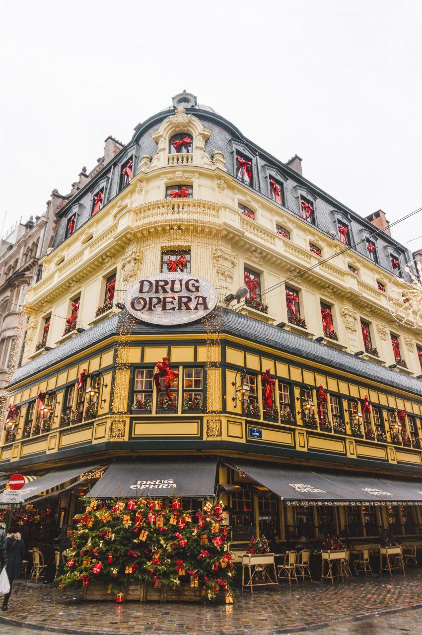 Things to do in Brussels, Belgium: visit Drug Opera