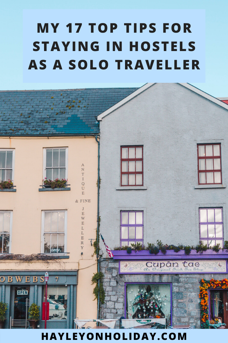17 helpful tips for fellow solo travellers staying in hostels worldwide.