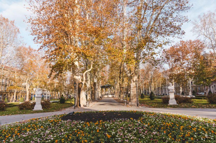 Exploring the many parks in Zagreb, Croatia