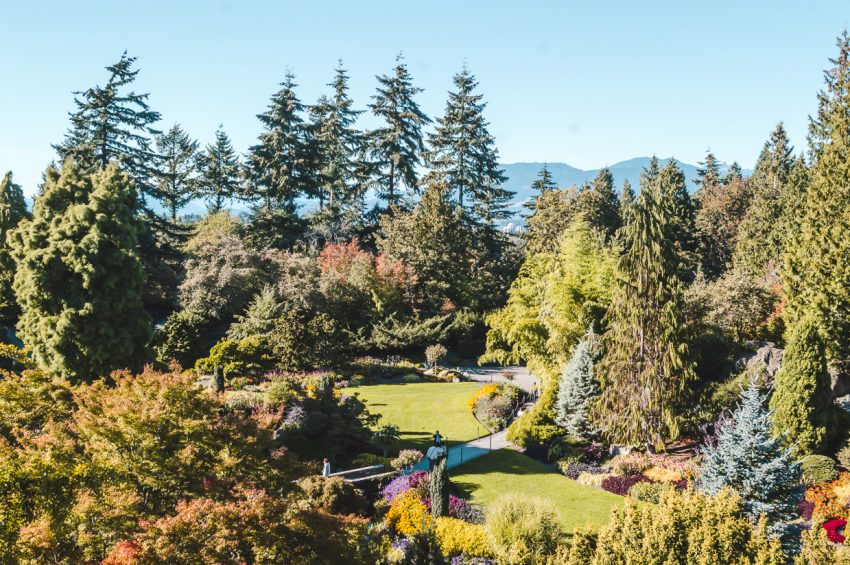 Click for my guide to the best free things to do in Vancouver, including visiting Queen Elizabeth Park.