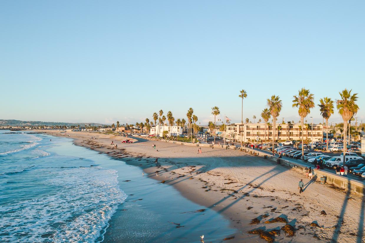 Ocean Beach views in San Diego, California