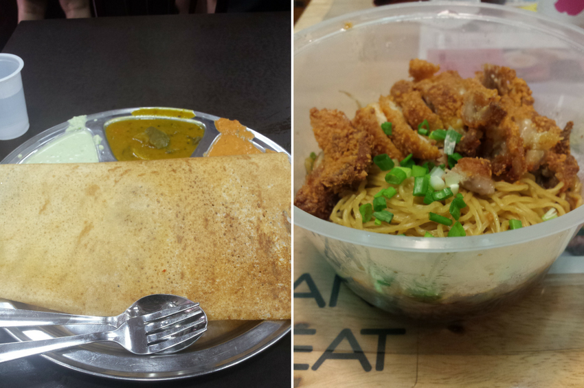 Things to do in Singapore: eat Indian and visit a hawker centre.