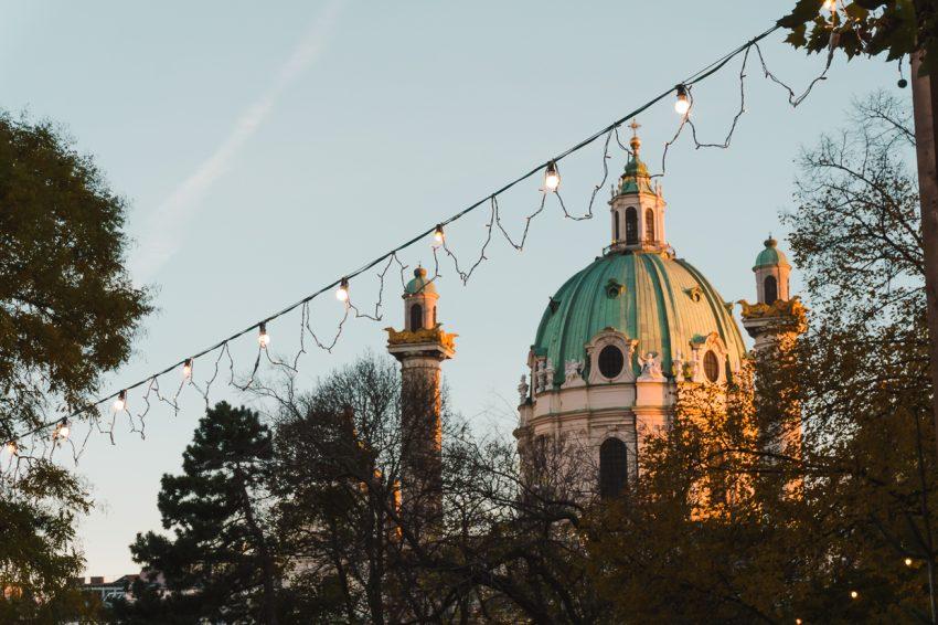 Golden hour in Vienna, Austria