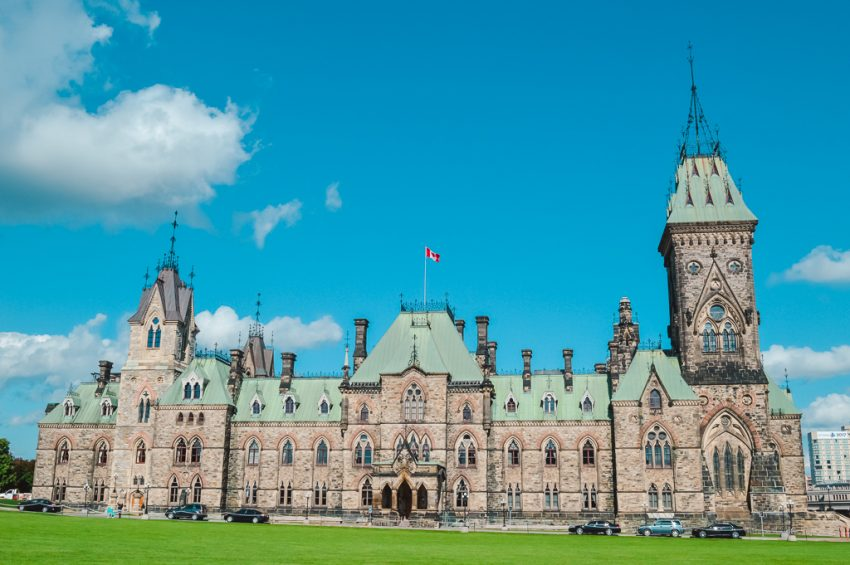 Parliament House in Ottawa. Add Ottawa to your Canada holiday itinerary and North America itinerary!