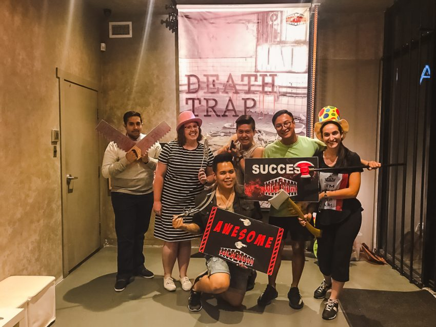 Things to do in Vancouver at night: attempt to escape an Escape Room