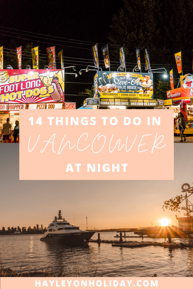 14 fun things to do in Vancouver at night