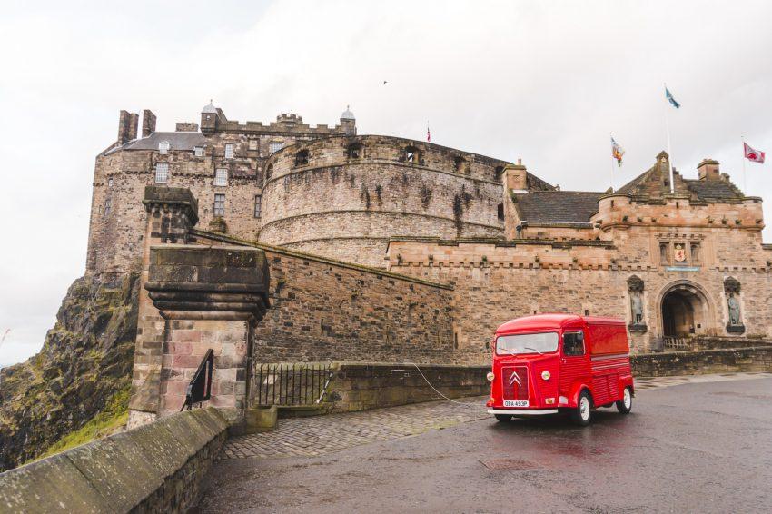 Edinburgh Castle in Edinburgh, United Kingdom