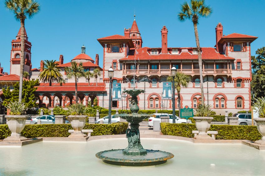 Add St Augustine, Florida to your solo North America itinerary.